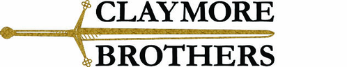 claymore brothers logo - custom tailored suits online