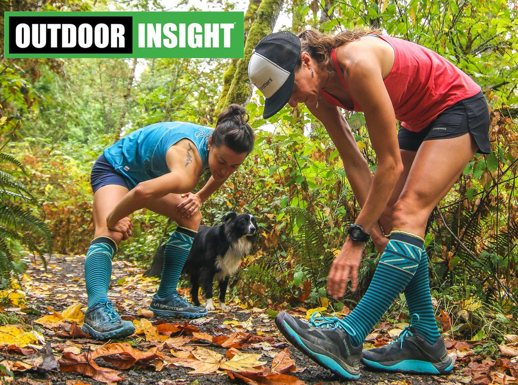 Outdoor Insight Talks Socks AND Lily Trotters