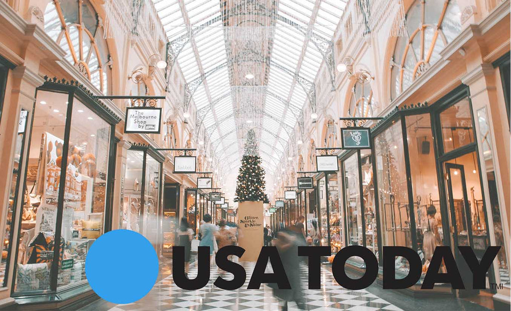 USA Today uses Lily Trotters for Black Friday shopping