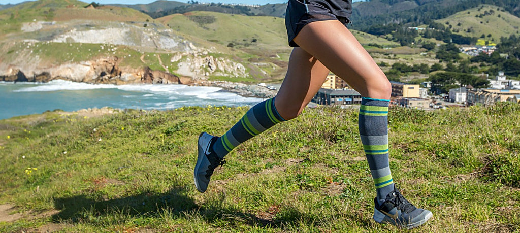 Compression socks in summer? Don't sweat it!