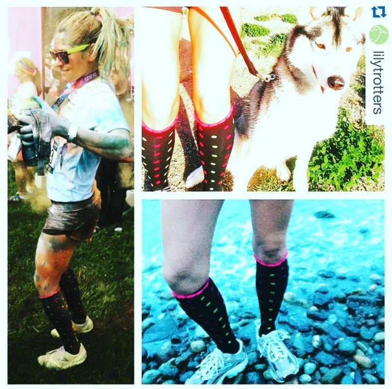 Slip Into Something More Powerful –   Lily Trotters Compression Socks