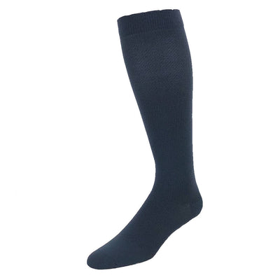 Designer performance compression sock in solid slate