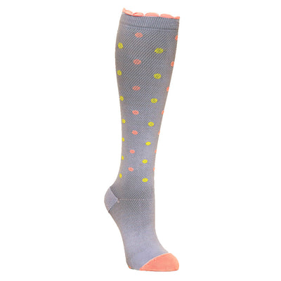 Adorable spring colors Compression Sock in periwinkle