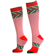 Christmas Compression Socks for Merrymaking and Running