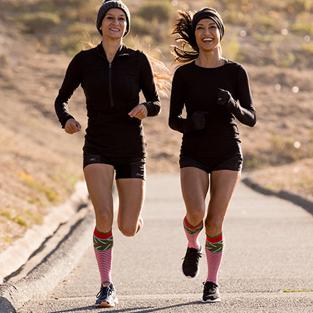Best Compression Socks for JingleBell Holiday Runs!
