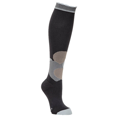 Lily Trotters Grey Hearts compression socks