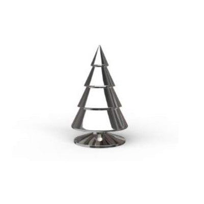 Happy® Xmas Trees SILVER 23 cm