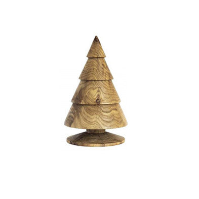 Happy®XmasTrees WOOD 23 cm