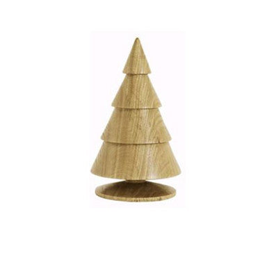 Happy®XmasTrees WOOD 18 cm