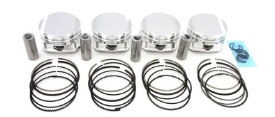 CP Pistons Set For Nissan SR20DET Silvia 240SX 9.0:1 86.5mm +0.5mm Bore SC7325
