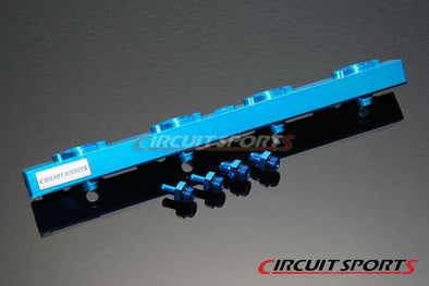 Circuit Sports Billet Side Feed Fuel Rail Kit for Nissan S13 SR20DET