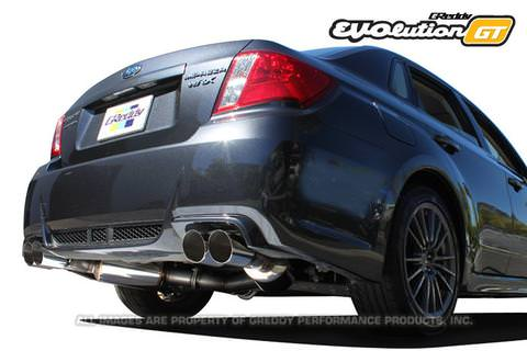 Greddy Evolution GT Exhaust System for 2011-14 Subaru WRX STI GV8 Sedan