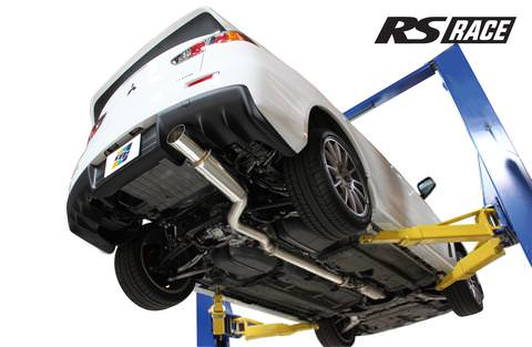 Greddy GPP RS Race Exhaust System for 2008-15 Mitsubishi EVO X