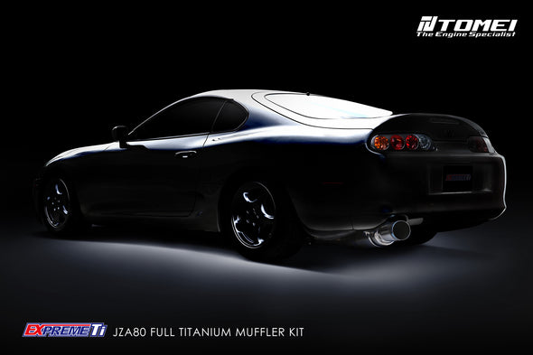 Tomei Expreme Titanium Exhaust System for 1993-02 Toyota Supra 2JZGTE JZA80
