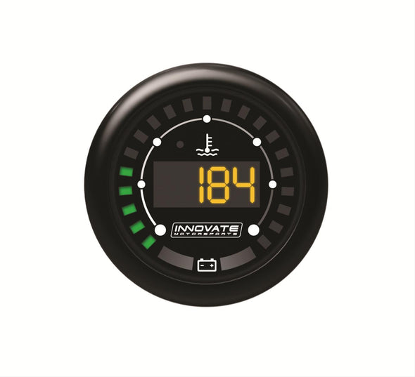 Innovate Motorsports MTX-D Water Temperature Battery Valtage Gauge Dual Function
