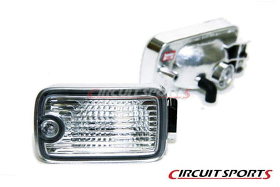 Circuit Sports Single Post Front Position Lights Set for Nissan 180SX Type X