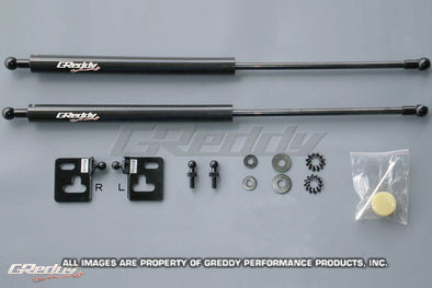 Greddy Carbon Hood Damper kit for 2005-07 Subaru GDB WRX STI