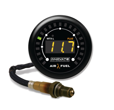 Innovate Motorsports MTX-L PLUS Digital Air / Fuel Ratio Gauge 3 ft w/O2 Sensor