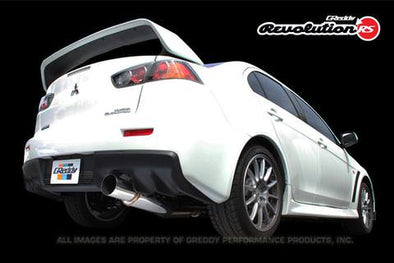 Greddy Revolution RS Exhaust System for 2008-15 Mitsubishi EVO X
