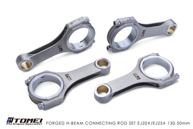 Tomei Forged H-Beam Connecting rod Kit For Subaru EJ20 EJ25 - 130.5mm