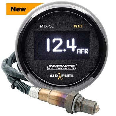Innovate Motorsports MTX-OL Plus Wideband Air / Fuel OLED Gauge 8 ft.
