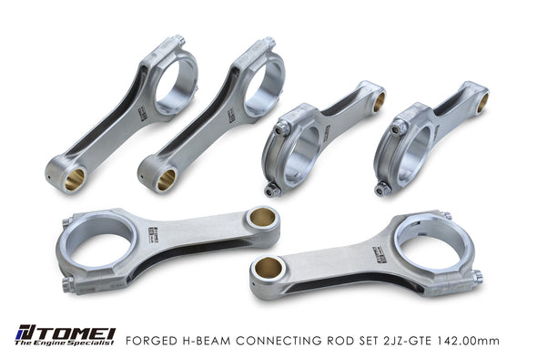 Tomei Forged H-Beam Connecting rod Kit For Toyota 2JZ-GTE - 142.0mm