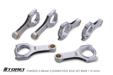 Tomei Forged H-Beam Connecting rod Kit For Nissan RB26DETT 2.8L Stroker 119.5mm