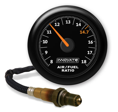 Innovate Motorsports MTX-AL Analog AirFuel Ratio Gauge Kit 8 ft w/O2 Sensor