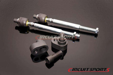 Circuit Sports Offset Steering Rack Spacer and Inner Tie Rod Set for 240SX S14
