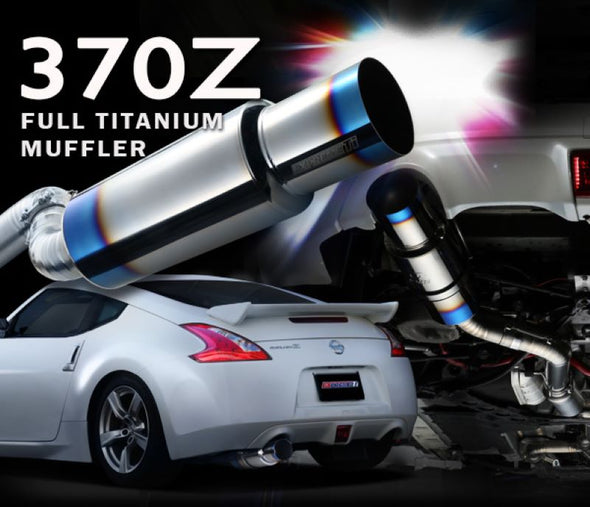 Tomei Expreme Titanium Exhaust System for 2009-11 Nissan 370Z Z34 VQ37VHR