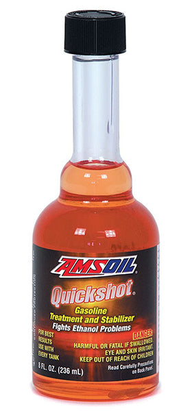 Amsoil Quickshot Fuel Additive 8 oz for 2 and 4 Stroke Gasoline Engine
