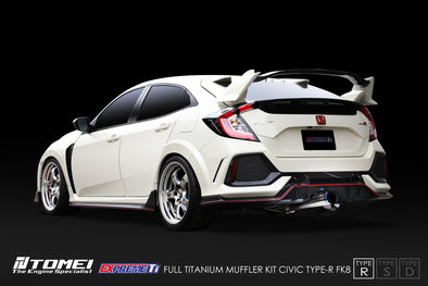 Tomei Expreme Titanium Exhaust System Type-R for 2017+ Honda Civic Type R FK8