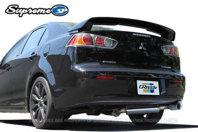 Greddy Supreme SP Exhaust System for 2008-11 Mitsubishi Lancer GTS