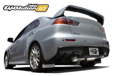 Greddy Evolution GT Exhaust System for 2008-15 Mitsubishi EVO X