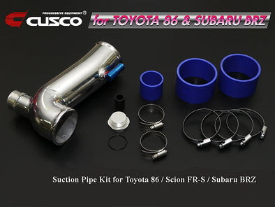 Cusco Air Suction Pipe Kit For Toyota 86  Scion FRS Subaru BRZ 2nd Gen 16 Up