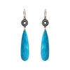 Turquoise Accent Earrings, Earrings - Luna Lili Jewelry