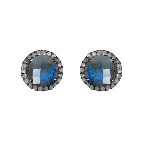 Small Polki Diamond Studs