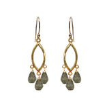 Labradorite Teardrop Chandelier Earrings, Necklaces - Luna Lili Jewelry