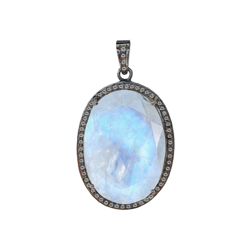 necklace journey sterling genuine topaz s three dp white and amazon simulated oval com design stone citrine silver