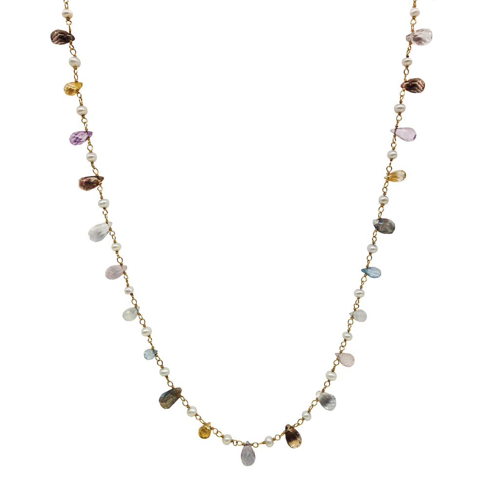 Multigemstone Strand of Jewels, Necklaces - Luna Lili Jewelry
