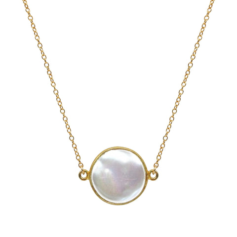 White Moonstone Dream Necklace