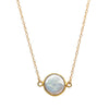 Small Pearl Bezel Choker, Necklaces - Luna Lili Jewelry
