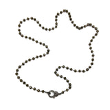 Elise Large White Topaz Lobster Necklace, Necklaces - Luna Lili Jewelry