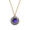 Amethyst White Topaz Pendant, Necklaces - Luna Lili Jewelry
