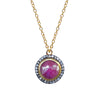 Ruby White Topaz Pendant, Necklaces - Luna Lili Jewelry