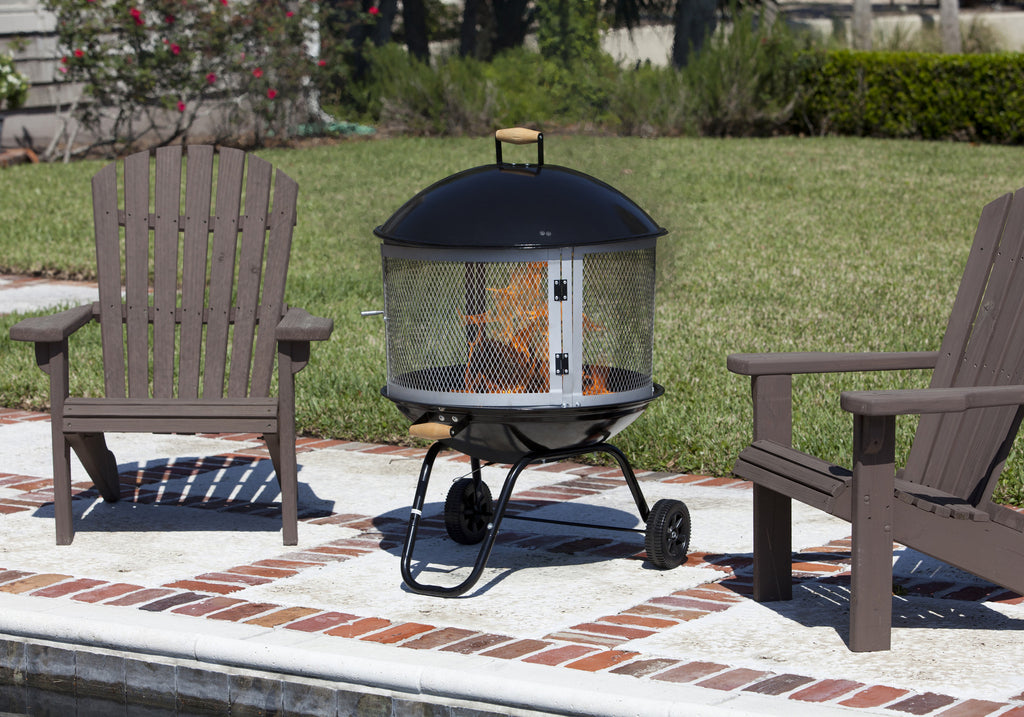 "28"" Bessemer Patio Fireplace"