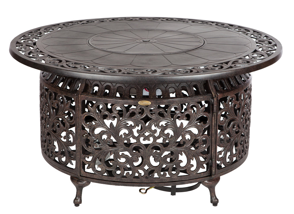 Sedona Round Cast Aluminum LPG Fire Pit (Costco.com Exclusive)