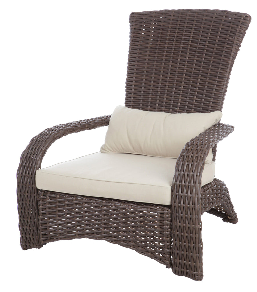 Coconino Wicker Chair Fire Sense
