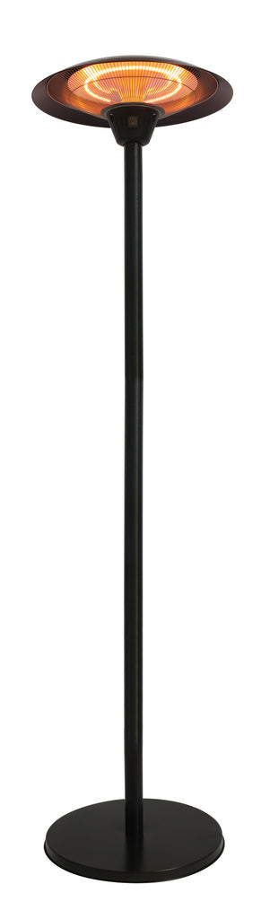 Frisco Bronze Colored Halogen Patio Heater