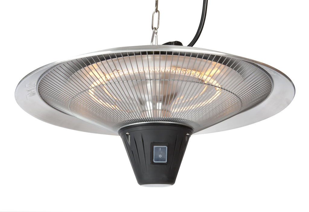 Gunnison Aluminum Hanging Halogen Patio Heater